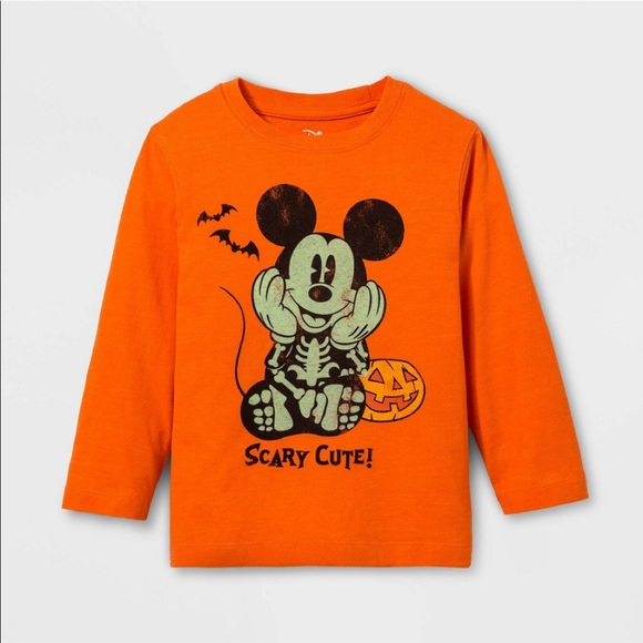 Black//Orange Long Sleeved Top Disney : : : Sweatshirt for Boys Star Wars